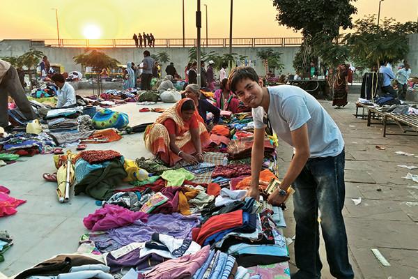 Tilla head Aratrik Dev Varman took me around Ahmedabad's Sunday market, Parmesh's Viewfinder, Parmesh Shahani