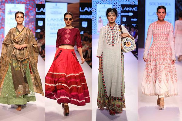day 2 lakme fashion week summer resort handloom and textiles