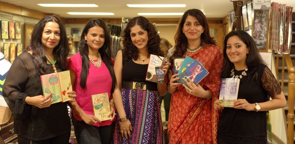 Kiran Manral, Meghna Pant, Madhuri Banerjee, Parul Sharma, Anjali Kirpalani at the Power Women Who Write Event in Mumbai
