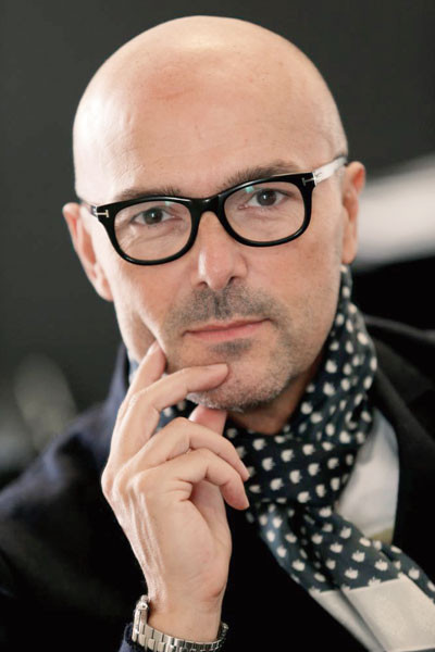 Rossano Ferretti, the international hairstylist