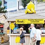 Toronto, Travel, Food Trail, Freshly-squeezed lemonade at CN Tower