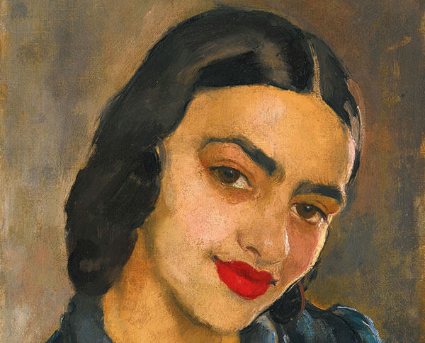 Amrita Sher-Gil, Self-portraits