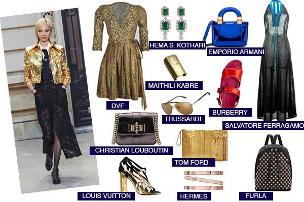 fashion trend bling LOUIS VUITTON burberry trussardi michael kors tom ford jewellery