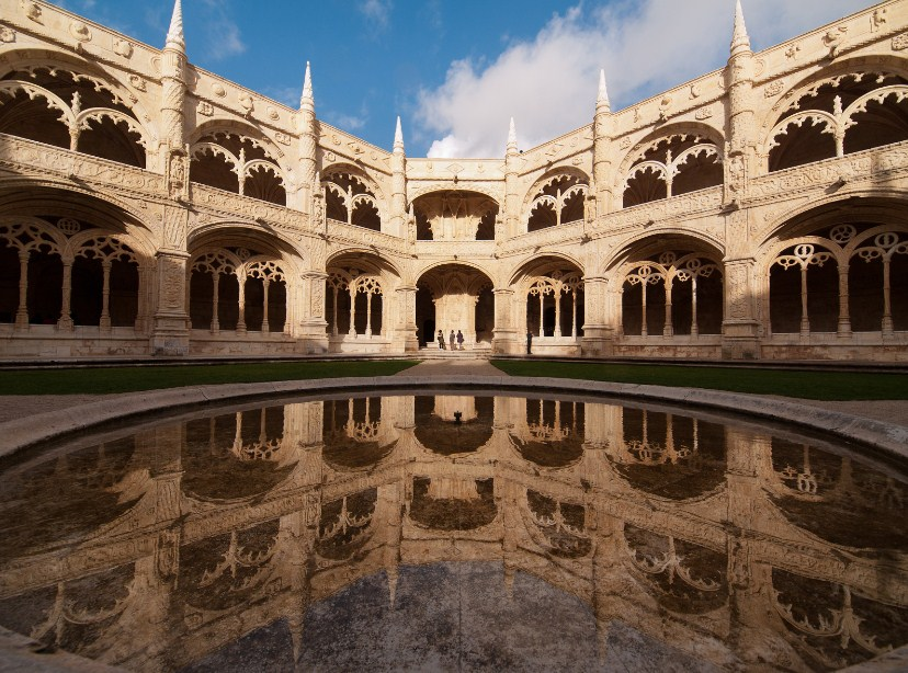Lisbon capital Portugal Europe Monastery