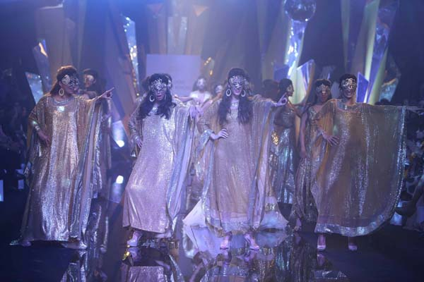 Abu Jani Sandeep Khosla Opening Day show at Lakme Fashion Week Mumbai Winter/Festive season