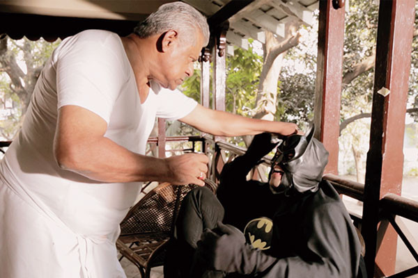 A still from the video What If Batman Was From Chennai?