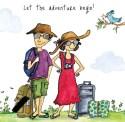Illustration, Tanvi Bhat, travel, adventure, quiz