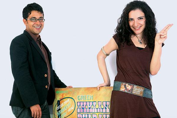 Nidhi Singh and Gaurav Gupta