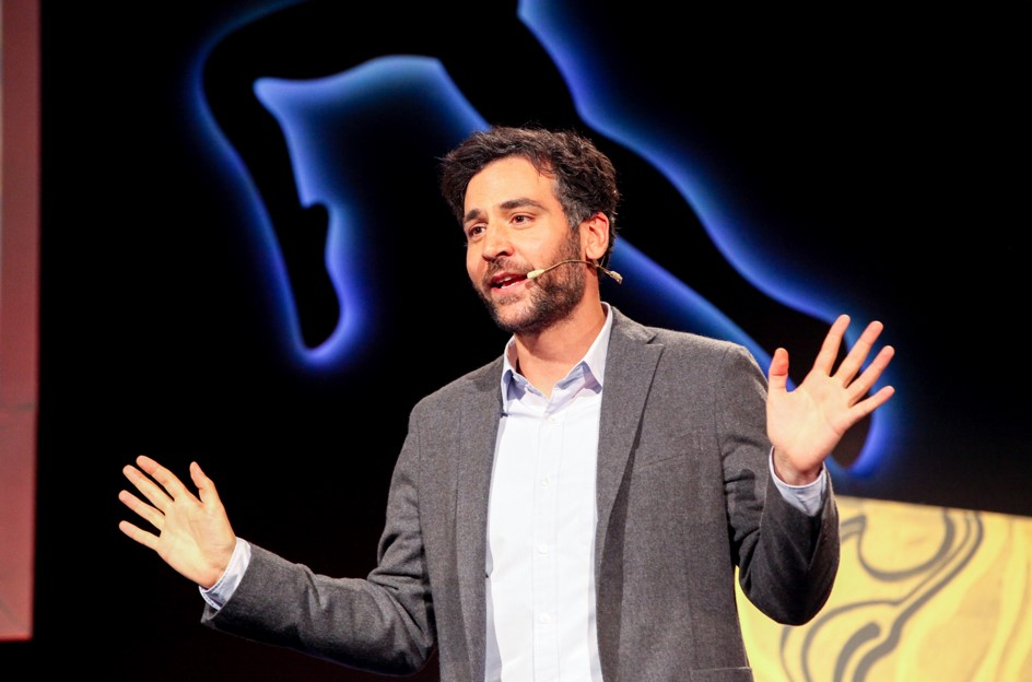 josh radnor, ink talk 2015, ted, how, i met your mother, tv actor