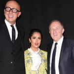 Guests at the Gucci Dinner hosted by the Kering Group