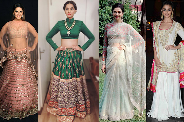 Indian looks of 2015 sonam kapoor alia bhatt deepika padukone
