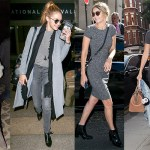 Gigi Hadid, Grey, Fashion trend