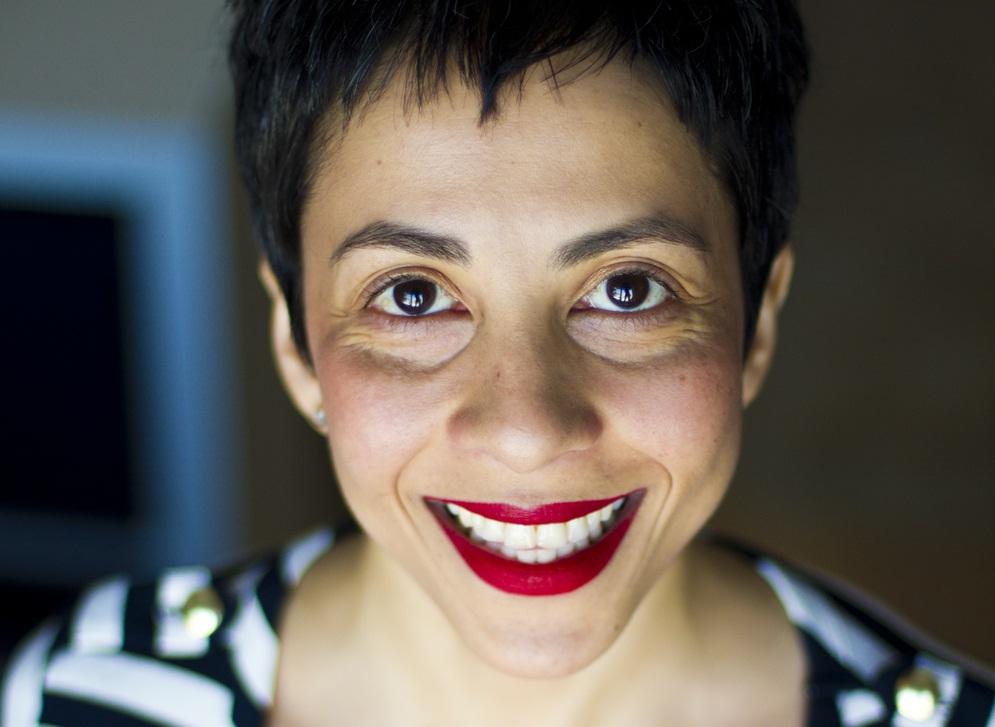 Author and comedienne Radhika Vaz