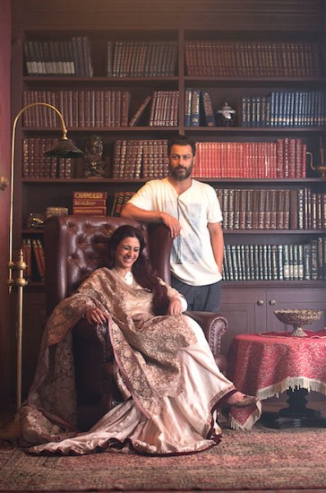 Tabu and Abhishek Kapoor
