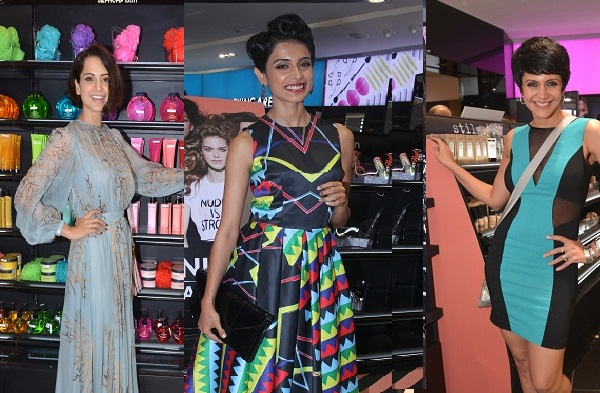 Celebrities at the launch of Sephora Mumbai