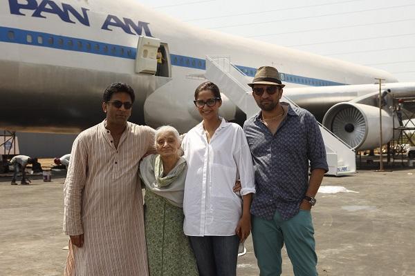 Director Ram Madhvani, Rama Bhanot, Sonam Kapoor, producer Atul Kasbekar