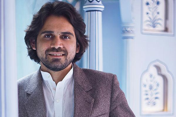 Siddharth Kasliwal, son of the late trendsetting jeweller Munnu Kasliwal