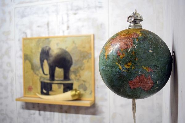 Artwork by Sachin Bonde for Soil Oil, Clark House Bombay
