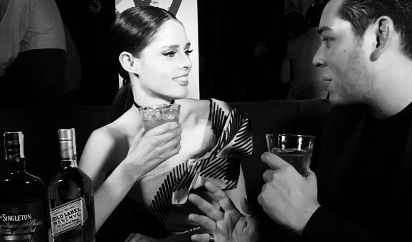 Coco Rocha, Scotch, Whiskey