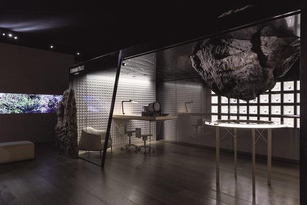 Austrian artist Kurt Hentschläger's video work was part of the 2014 lounge