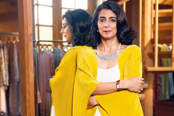 Tina Tahiliani Parikh, Fashion Designer, Ensemble