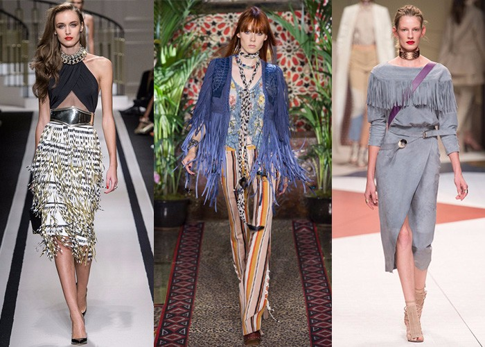 tassels, international fashion, fashion week, trends,