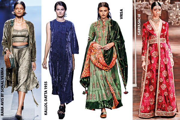 Fashion, Lakme Fashion Week, Winter/Festive '16 edition, deep colours and lush fabrics, regal lehngas, matching accessories from pouchettes to shoes
