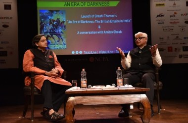 Shashi Tharoor and Amitav Ghosh