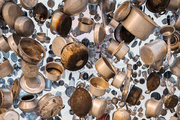 Subodh Gupta, Cooking The World, Singapore Biennale