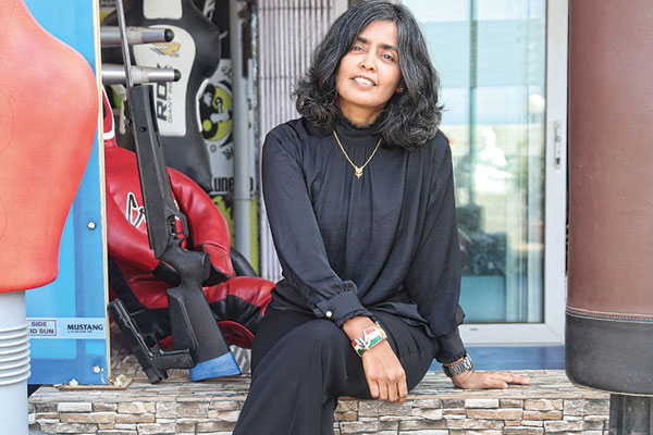 Seema Rao, India's first woman commando trainer