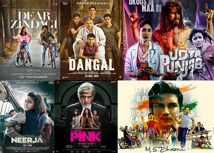 Movies, 2016, Bollywood, Films,