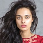 Zinnia Kumar, published scientist and fashion model with IMG Worldwide