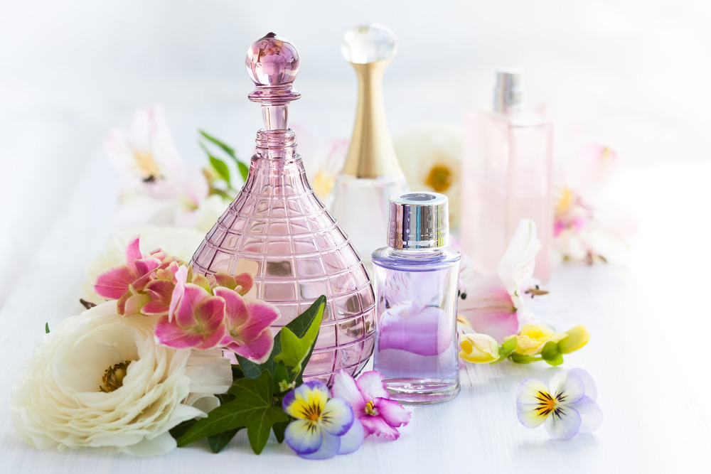 Spring fragrances, perfumes