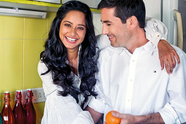 Chef couple Shilarna Vaze and Christophe Perrin of Gaia Gourmet