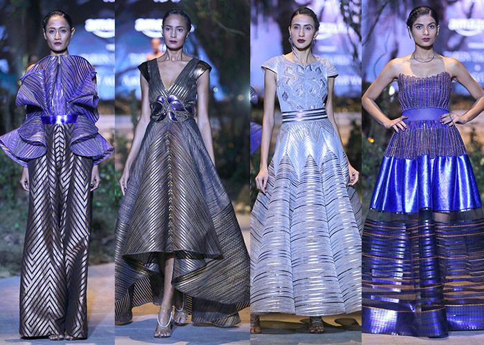 Amit Aggarwal, Amazon India Fashion Week Autumn Winter 2017, Amazon India Fashion Week, AIFW, Fashion, Designer,