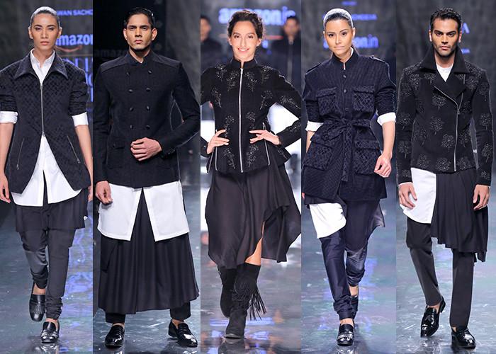 Pawan Sachdeva, Amazon India Fashion Week Autumn Winter 2017, Amazon India Fashion Week, AIFW, Fashion, Designer,