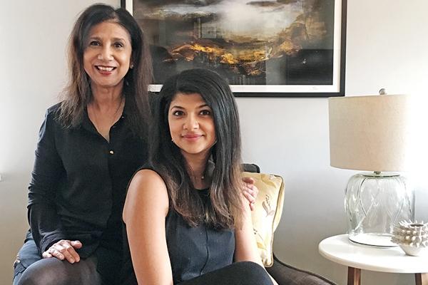 Reena And Rohini Wahi, Napeansea, London