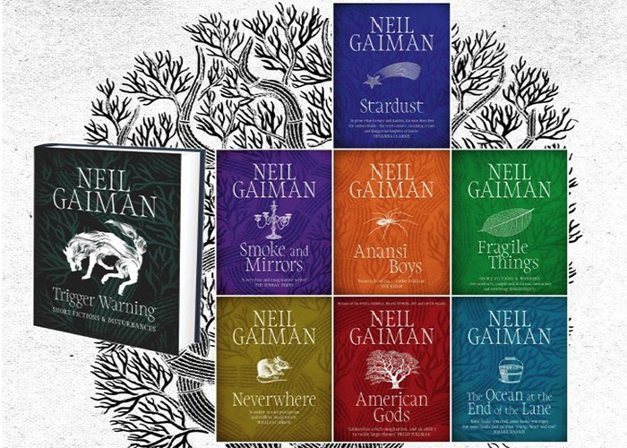 Father's Day, Gifting, Neil Gaiman, Books,
