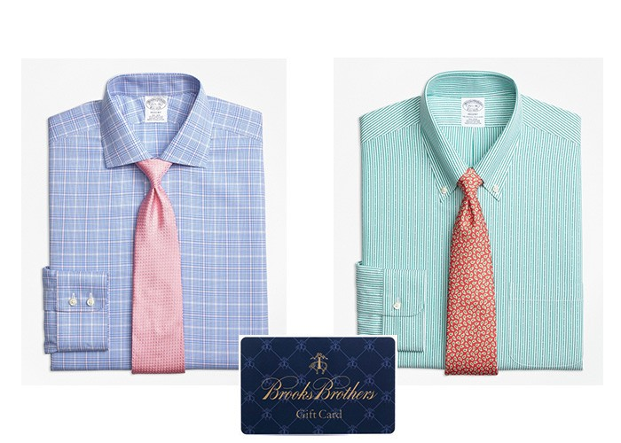 Brooks Brothers, Father's Day, Gifting, apparel, shirts, gift card,
