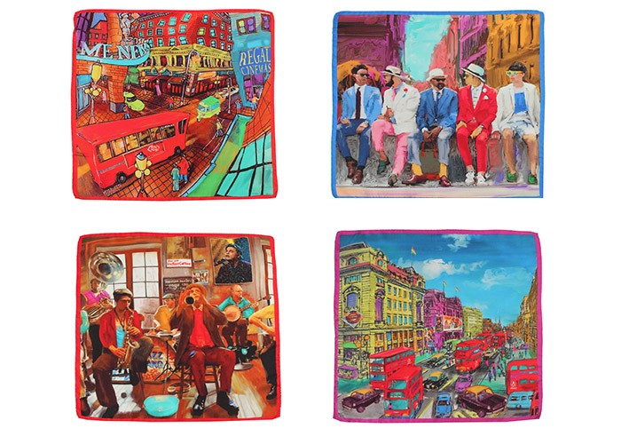 Sunil Mehra, pocket squares, Father's Day, Gifting,