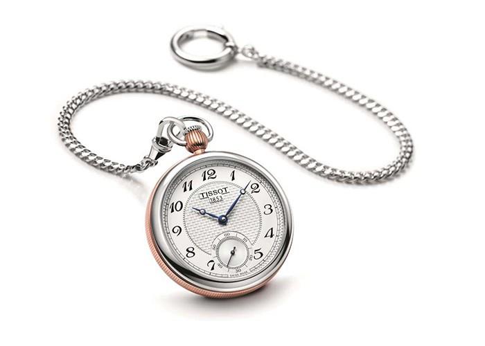 Tissot Bridgeport Lepine Mechanical pocket watch, Father's Day, Gifting,
