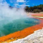 Rotorua, North Island of New Zealand