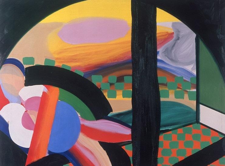 Howard Hodgkin, The Hepworth Wakefield, Gagosian, Painting India