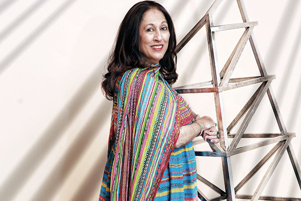 Kiran Nadar, Indian art collector and philanthropist