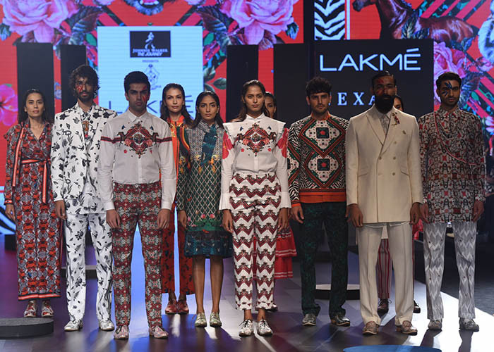 Ajay Kumar, Lakme Fashion Week, Lakme Fashion Week Winter Festive 2017, Fashion, Designers, Runway, LFW, Day 4,