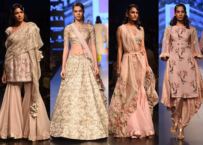 Anushree Reddy, Lakme Fashion Week, Lakme Fashion Week Winter Festive 2017, Fashion, Designers, Runway, LFW, Day 4,