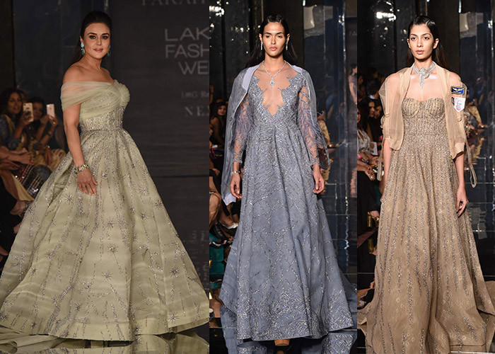 Falguni Shane Peacock X Farah Khan, Lakme Fashion Week, Lakme Fashion Week Winter Festive 2017, Fashion, Designers, Runway, LFW,