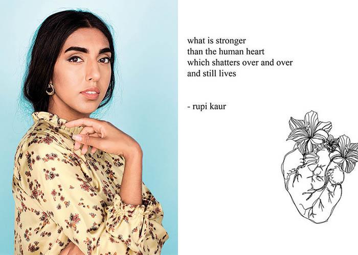 Rupi Kaur, Instagram Poet, Writer, Poet,