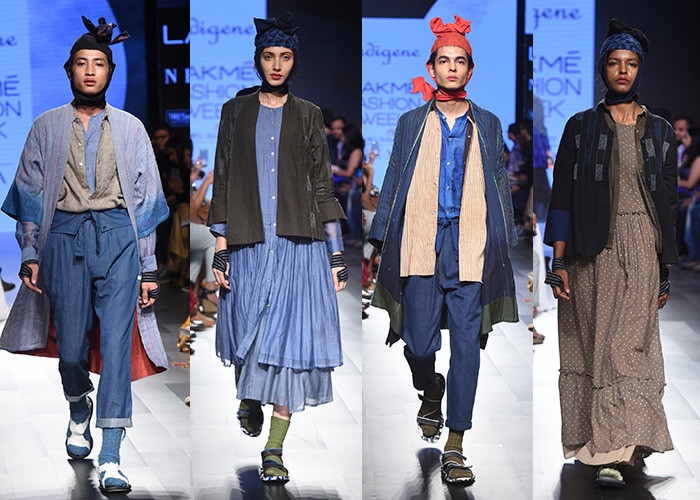 Indigene, Lakme Fashion Week, Lakme Fashion Week Winter Festive 2017, Fashion, Designers, Runway, LFW,