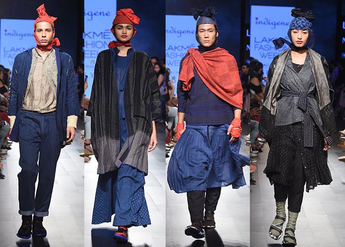 Indigene, Lakme Fashion Week, Lakme Fashion Week Winter Festive 2017, Fashion, Designers, Runway, LFW,